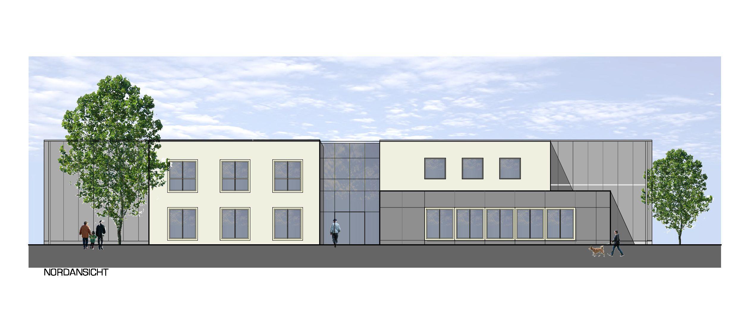 067 Verwaltungsgebäude mit Lagerhalle